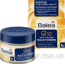 Ночной крем для лица от морщин  Balea  Q10 Anti-Falten Nachtcreme 50мл
