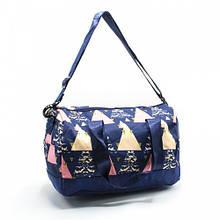 Маленькая детская спортивная, пляжная сумка из легкой ткани с рисунками для девочки