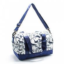 Небольшая детская спортивная, пляжная сумка для девочки легкая текстильная с рисунками