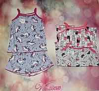 Детская пижама Наташа стрейч кулир, фото 1