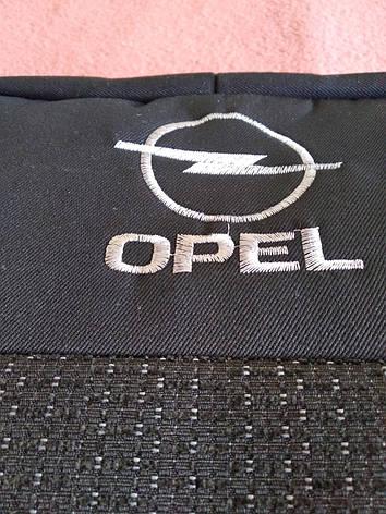 Чохли на сидіння OPEL Astra G з 1998 р. 1/3 спина / 5 підголовників. Опель Астра, фото 2