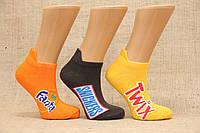 Жіночі короткі шкарпетки з бавовни з принтом КАРДЕШЛЕР асорті