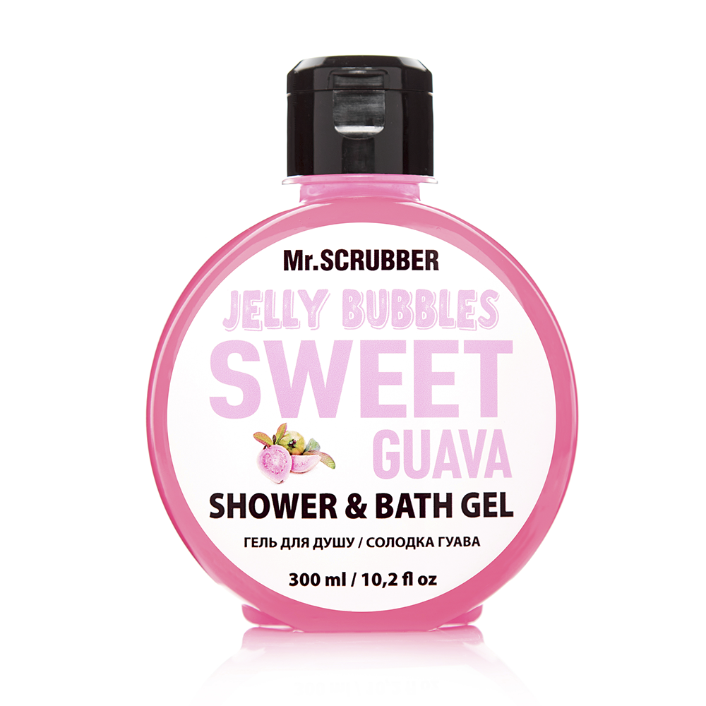Гель для душа Jelly Bubbles Sweet Guava Mr.SCRUBBER