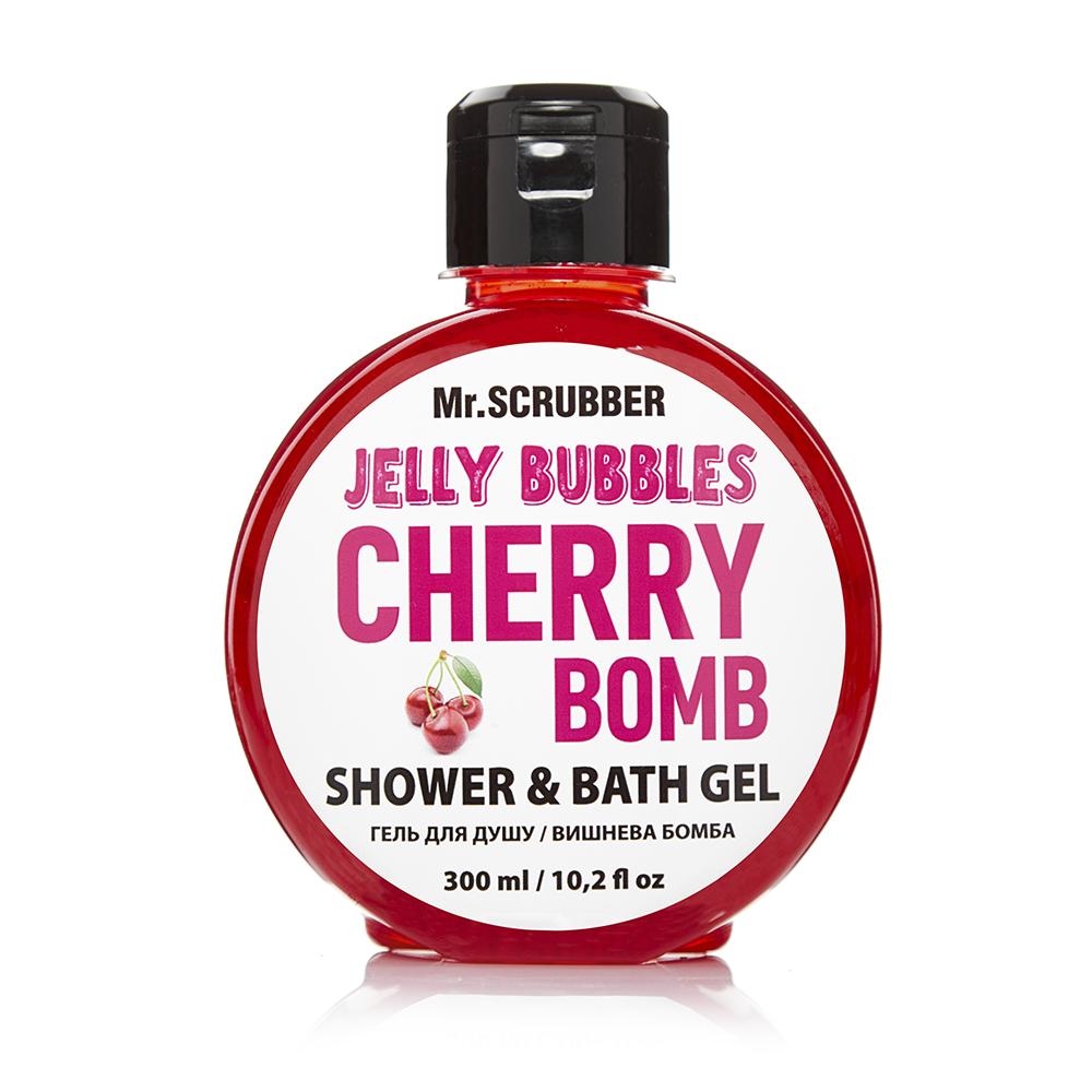 Гель для душу Jelly Bubbles Cherry Bomb Mr.Смуги навігації