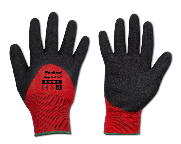 Перчатки защитные PERFECT GRIP RED FULL латекс, размер  11, RWPGRDF11 Бренды Европы, фото 2