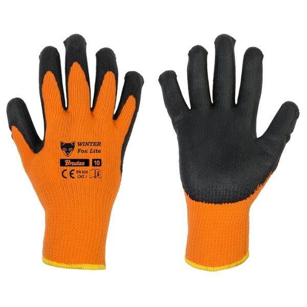 Захисні рукавички WINTER FOX LITE з латексу, розмір 11, RWWFL11 Бренди Європи