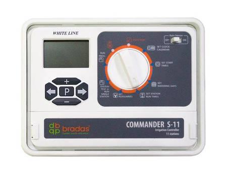 Электронный контроллер полива, 11 секций  (зон), WHITE LINE, WL-31S11, фото 2