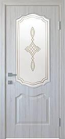 Двері Новий Стиль Вензель З Р1 з малюнком Ясен New, 600