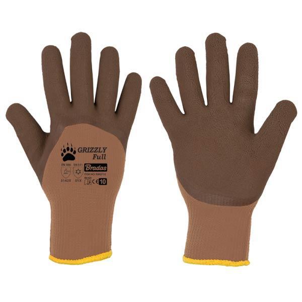 Защитные перчатки GRIZZLY FULL латекс, размер  10, RWGF10 Бренды Европы
