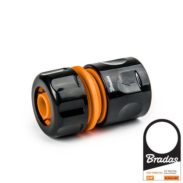 """Коннектор для шланга 3/4"""", POWER JET, BLACK LINE, ECO-PWB2163 Бренди Європи"""