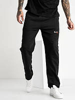 Мужские спортивные штаны Nike Air без манжетов! Трикотаж, без синтетики. Размер 50 (L)
