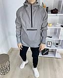 Чоловіча куртка - анорак Shadow рефлектив, фото 2