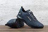 Мужские кроссовки Jordan серые, сетка, фото 4