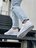 Женские кроссовки Nike Air Force 1 белые, фото 2