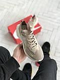 Женские кроссовки Nike Vista бежевые, фото 6