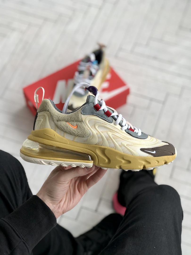 Мужские кроссовки Nike 270 React беж