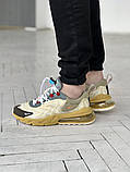 Мужские кроссовки Nike 270 React беж, фото 2