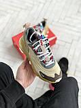 Мужские кроссовки Nike 270 React беж, фото 8