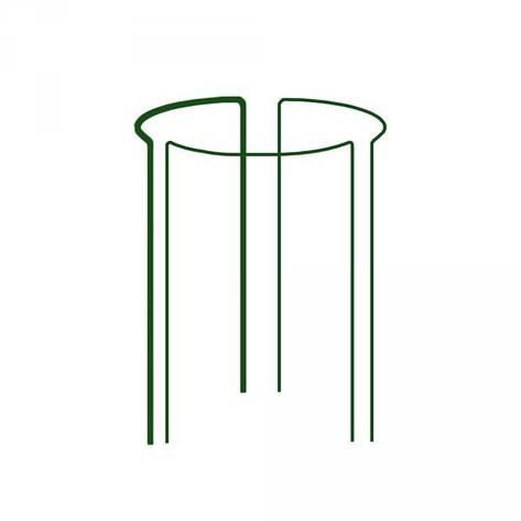 Кольцевая опора для растений, 1/3 круга,  D=40см, H=75см, TYRP34075 Бренды Европы, фото 2