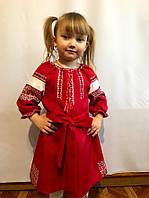 Детское платье-вышиванка в стиле бохо