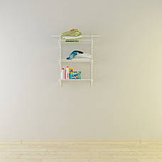 Гардеробна система 636*306, висота 1000мм Кольчуга (для ванної, білий), фото 3