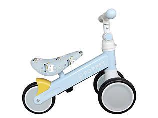 Детский трёхколёсный беговел POPPET «Кот Пчелка Хани», весенне-голубой