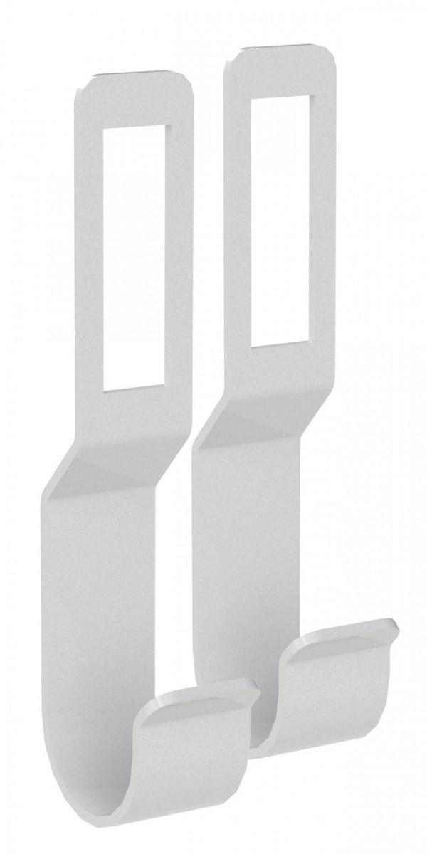 Тримач для релінги Кольчуга (консольна система зберігання)комплект 2 шт Сріблястий