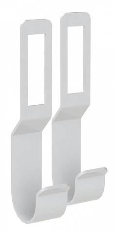 Тримач для релінги Кольчуга (консольна система зберігання)комплект 2 шт Сріблястий, фото 2
