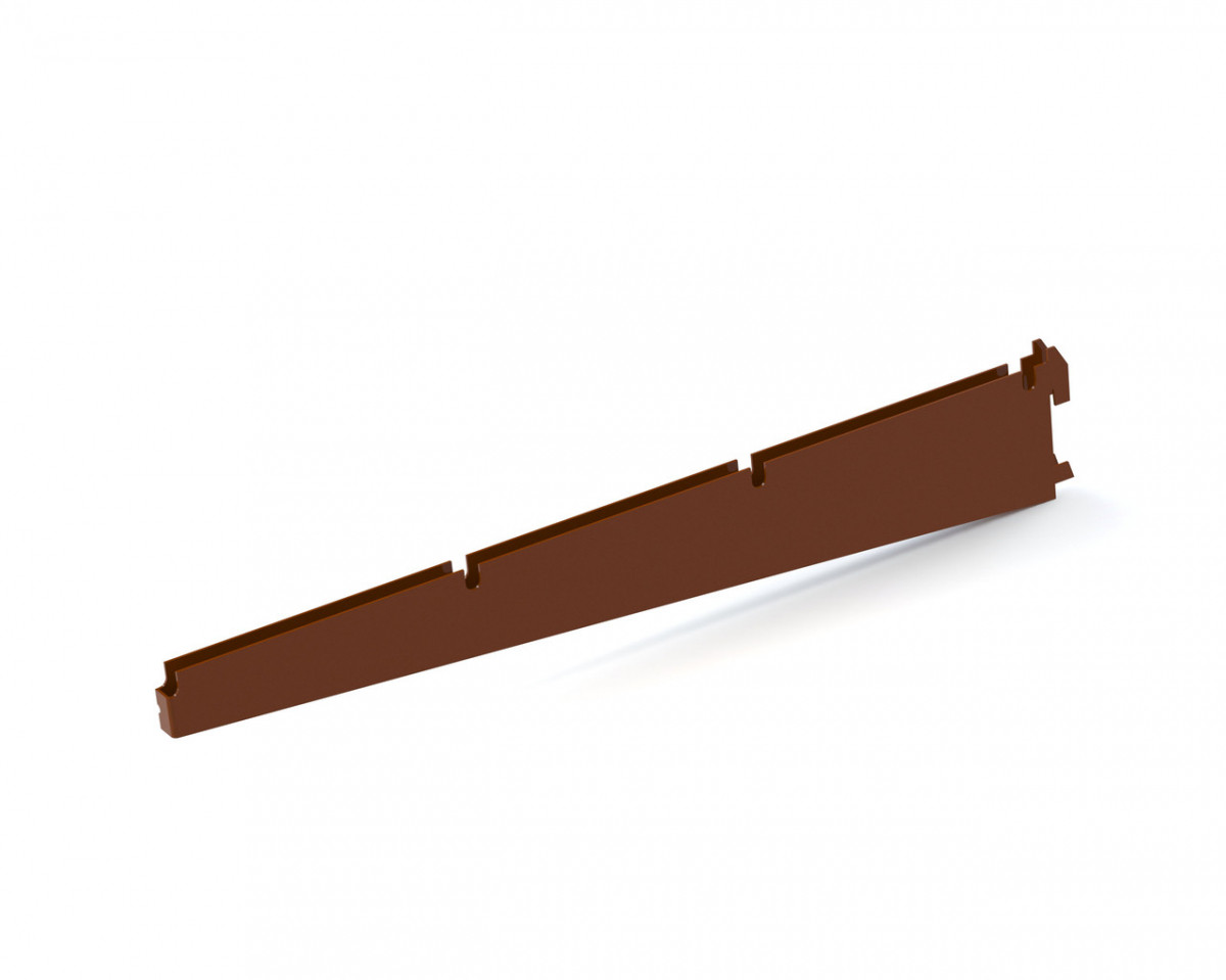 Кронштейн подвійний 406мм Кольчуга (консольна система зберігання, коричневий)
