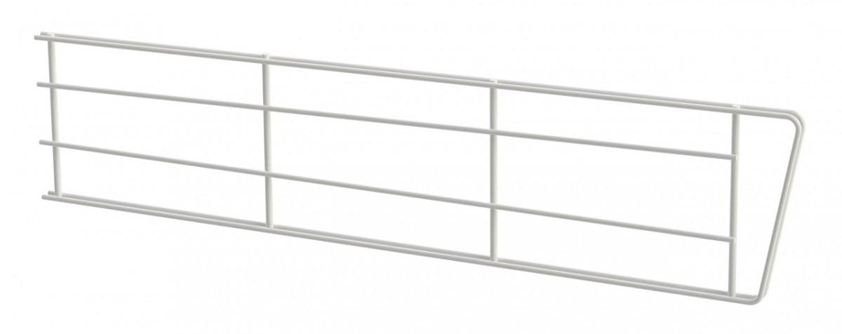 Перегородка дротяна 406*100мм Кольчуга (консольна система зберігання) білий