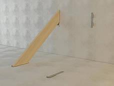 Планка для монтажу косоурів ліва 350х44 мм, фото 2