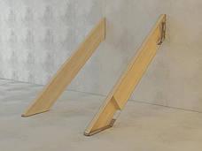 Планка для монтажу косоурів ліва 350х44 мм, фото 3