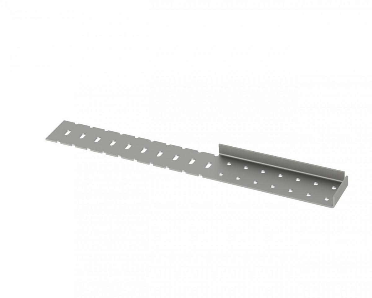 Планка для монтажу косоурів права 350х44 мм