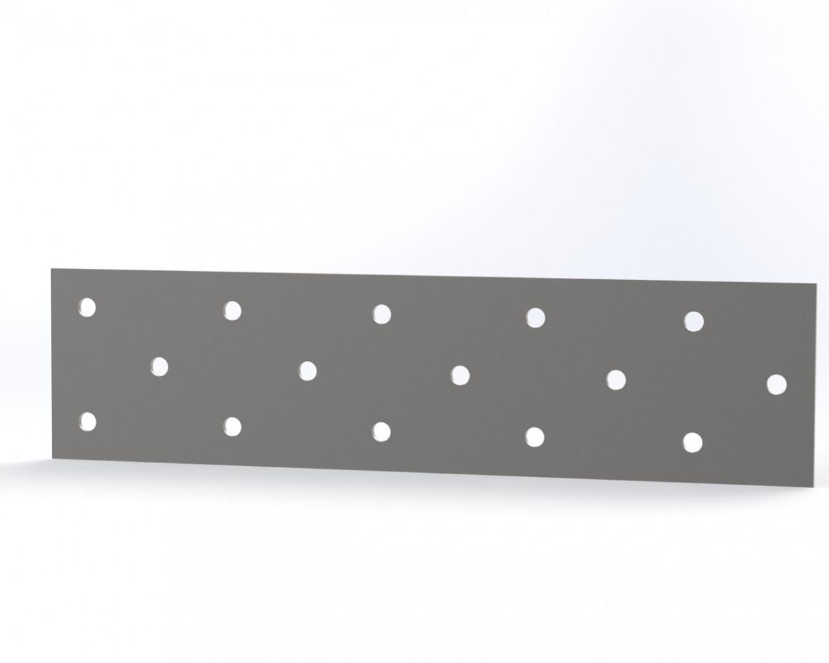 Монтажна пластина (кріпильна) перфорована 40х160х2. ТМ Кольчуга (Kolchuga)
