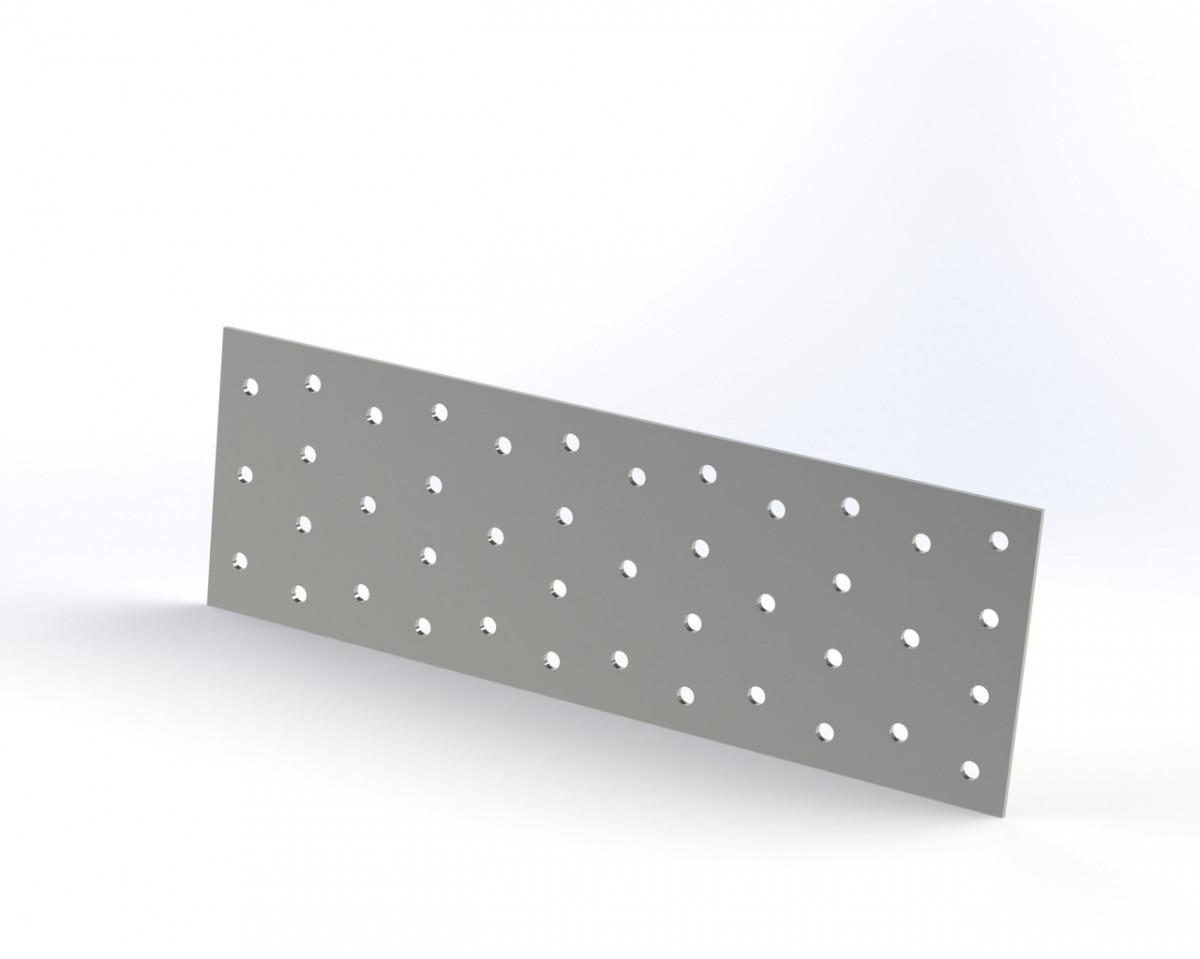 Монтажна Пластина (кріпильна) перфорована 60х240х2. ТМ Кольчуга (Kolchuga)