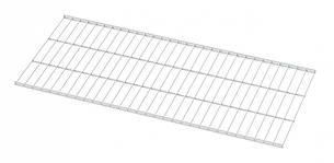 Полиця дротяна 1206*406мм Кольчуга (консольна система зберігання, білий), фото 2
