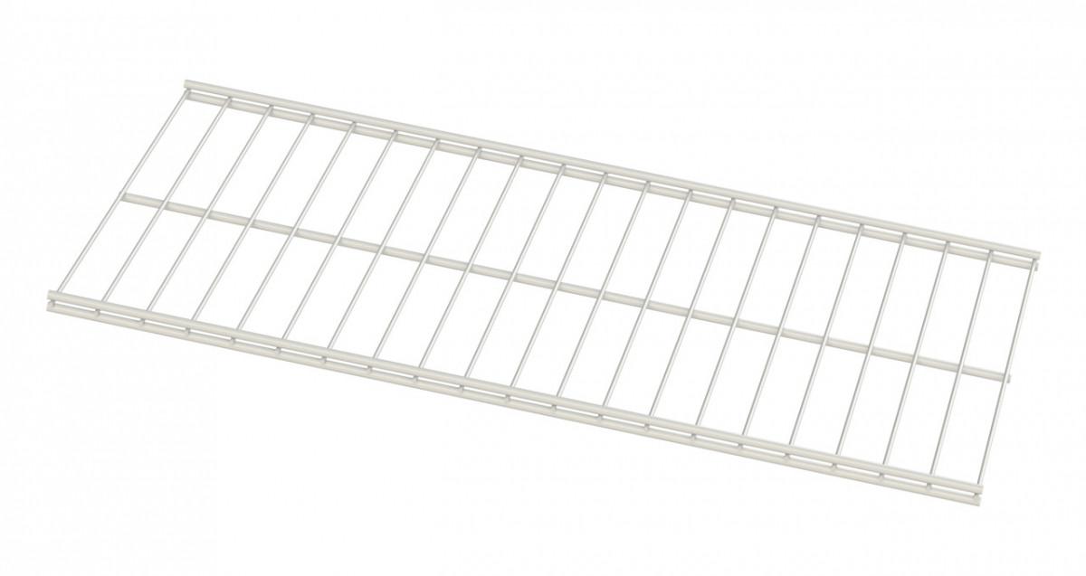 Дротяна полиця Кольчуга (консольна система зберігання) 606*306 мм Білий