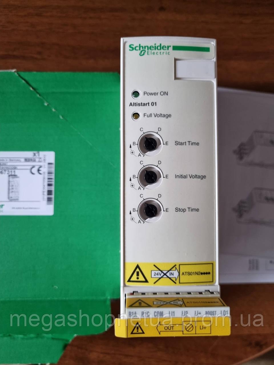 Плавный пуск 22А ATS01N222QN устройство плавного пуска 7,5-11 кВт