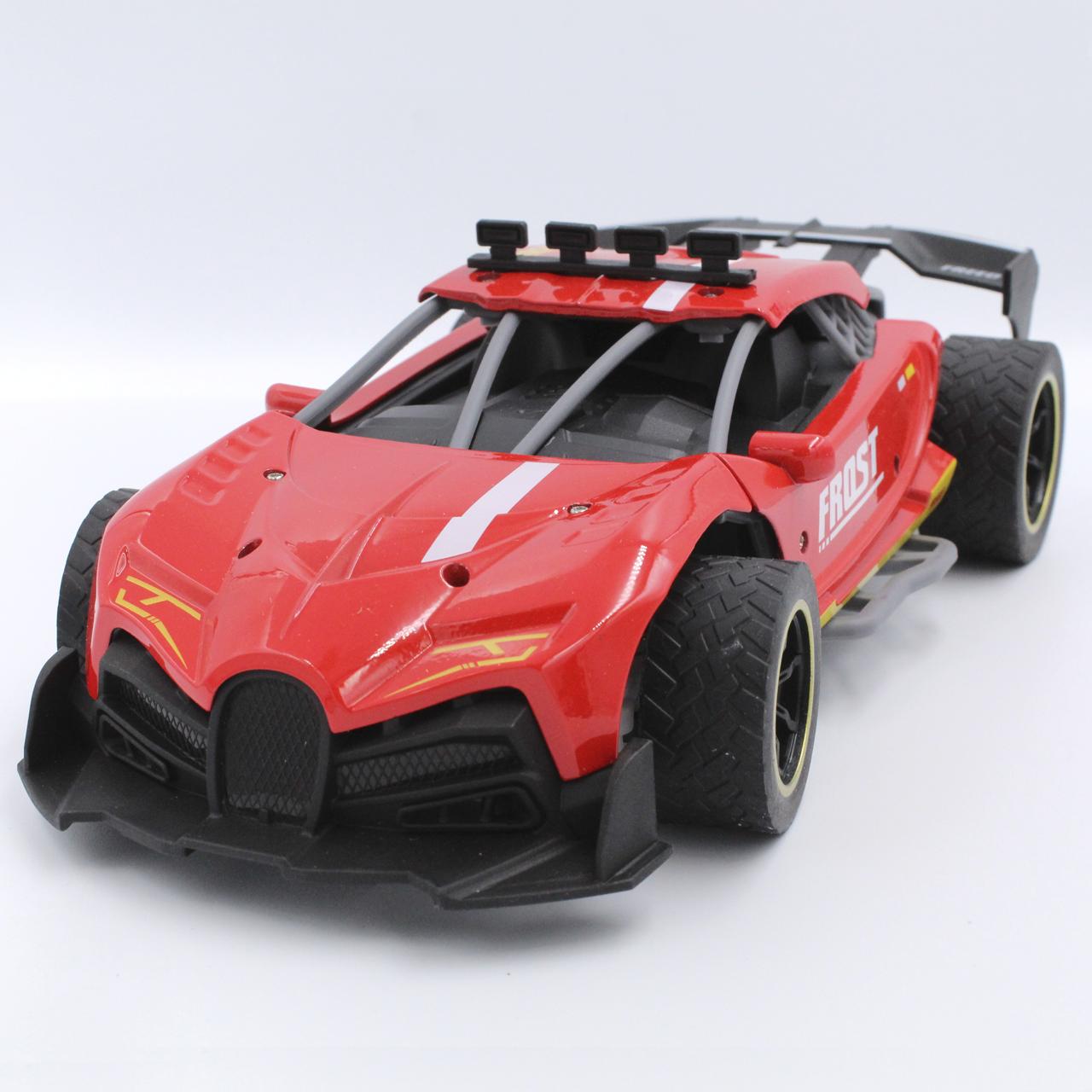 Машина на радиоуправлении Frost метало-пластик Красная