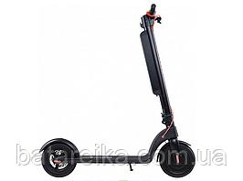 Складний двоколісний електросамокат для дорослих та дітей PROOVE Model X-City Pro 350W/10400mAh black/red