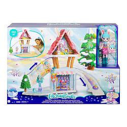Игровой набор Enchantimals Hoppin Ski Chalet Энчантималс Лыжный дом Шале Кролихи Беви (GJX50)