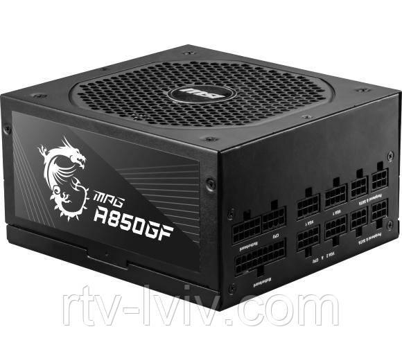 Блок живлення  MSI MPG A850GF 850W 80+ Gold