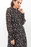 Шифонова сукня міді в квітковий принт Мануела д/р, фото 5