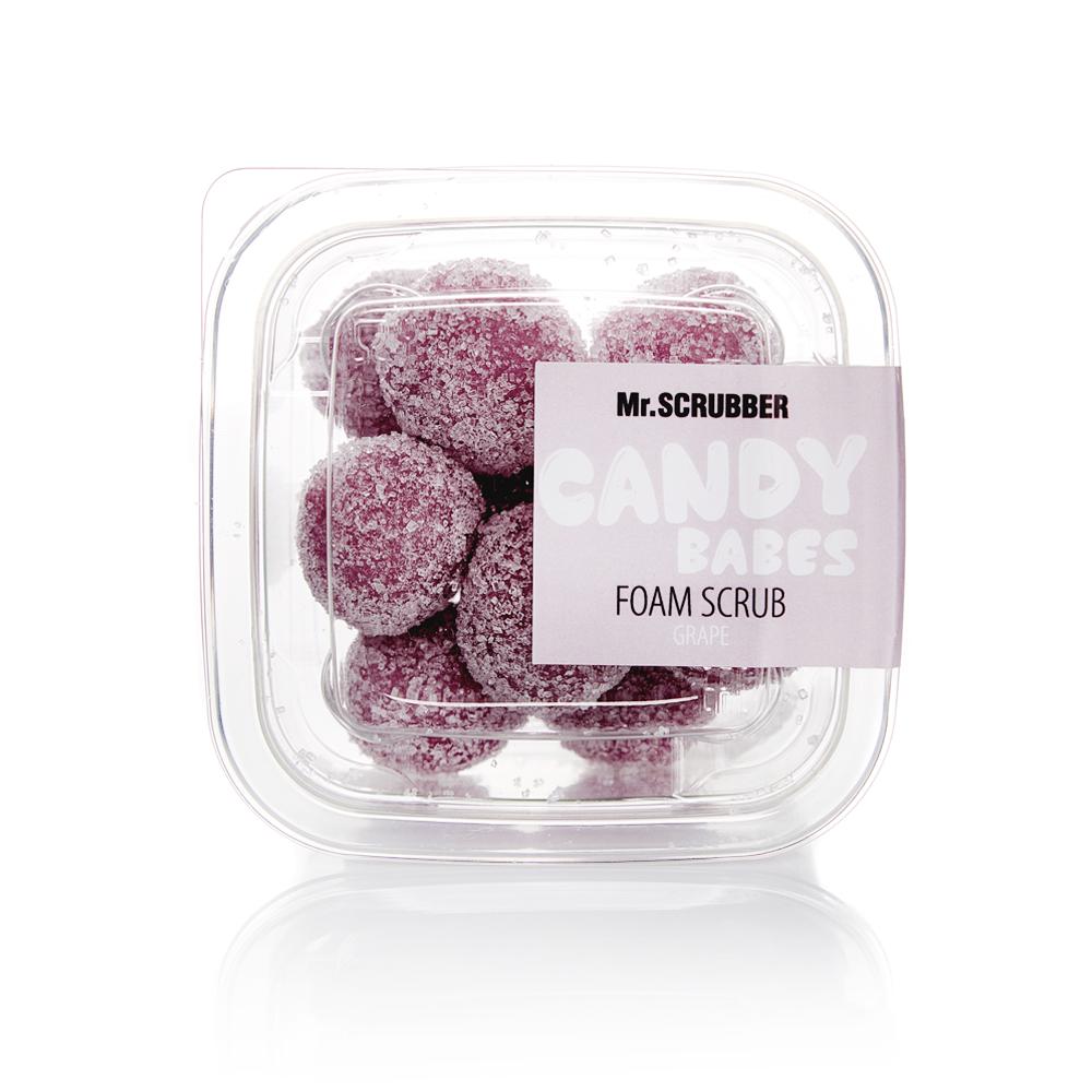 Пенный скраб для тела Candy Babes Grape Mr.SCRUBBER