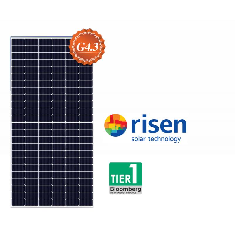 Сонячна панель Risen RSM 144-7-450М (сонячна батарея,фотомодуль,зелений тариф,сонячна електростанція)