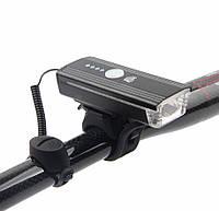 Велосипедный фонарь с датчиком освещенности, звуковым сигналом и дистанционным управлением Machfally EOS230