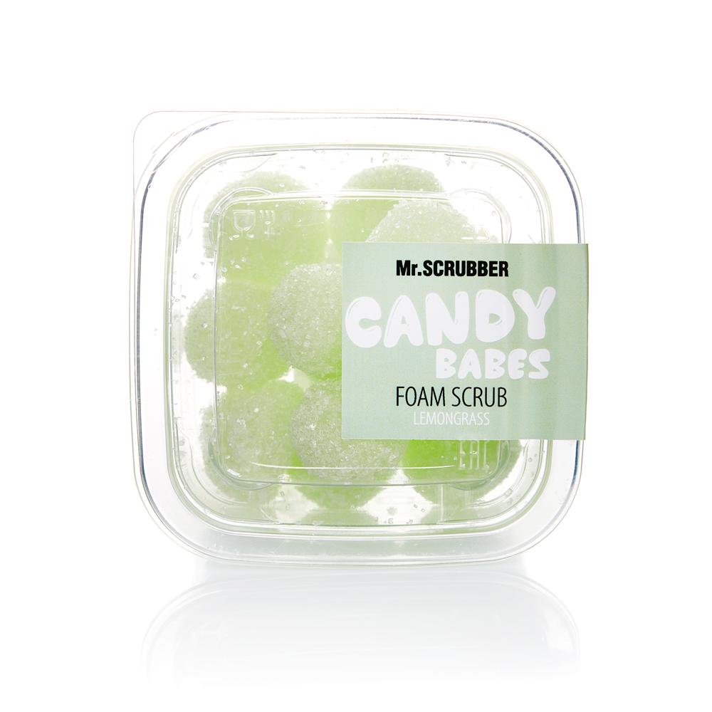 Пінний скраб для тіла Candy Babes Lemongrass Mr.Смуги навігації