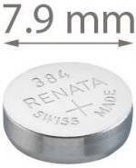 Батарейка для часов, Renata 384