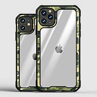 Ударопрочный чехол iPaky Camouflage для iPhone 12/12 Pro