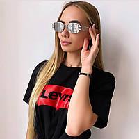 Женские зеркальные солнцезащитные очки, фото 1